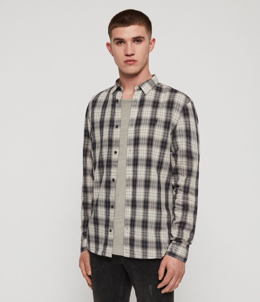 Men's Riverton Shirt (grey) - Image 4