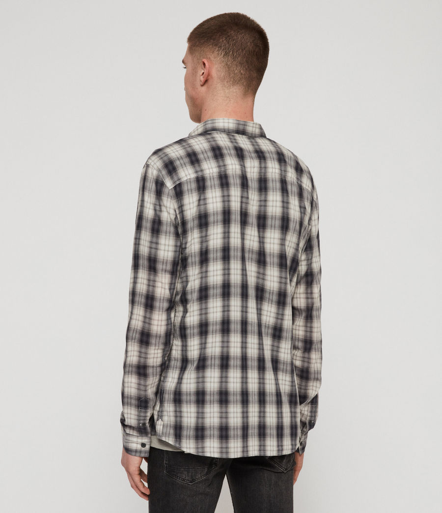 Men's Riverton Shirt (grey) - Image 5