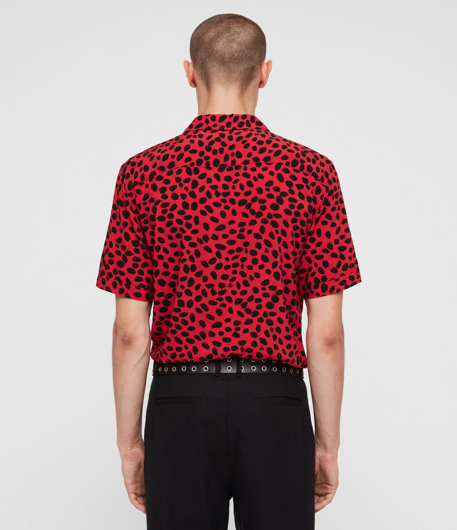 Mens Piero Shirt (red_black) - Image 5