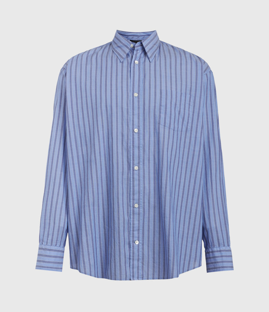 Mens Waka Shirt (blue) - Image 2