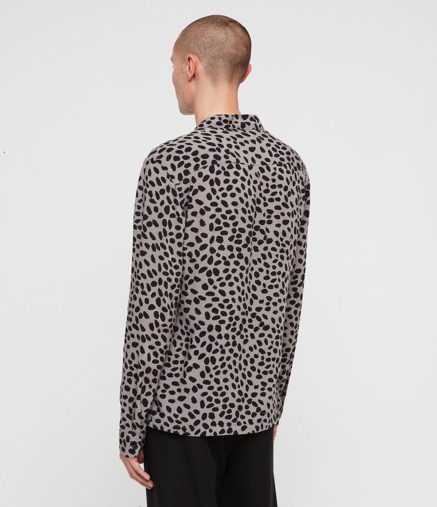 Mens Piero Shirt (mine_grey__black) - Image 5