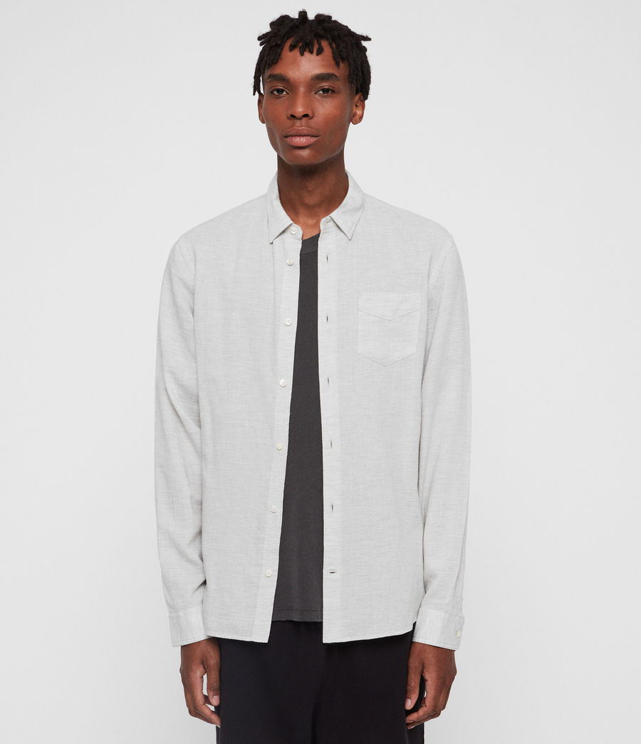 Men's Searsmont Shirt (grey_marl) - Image 1