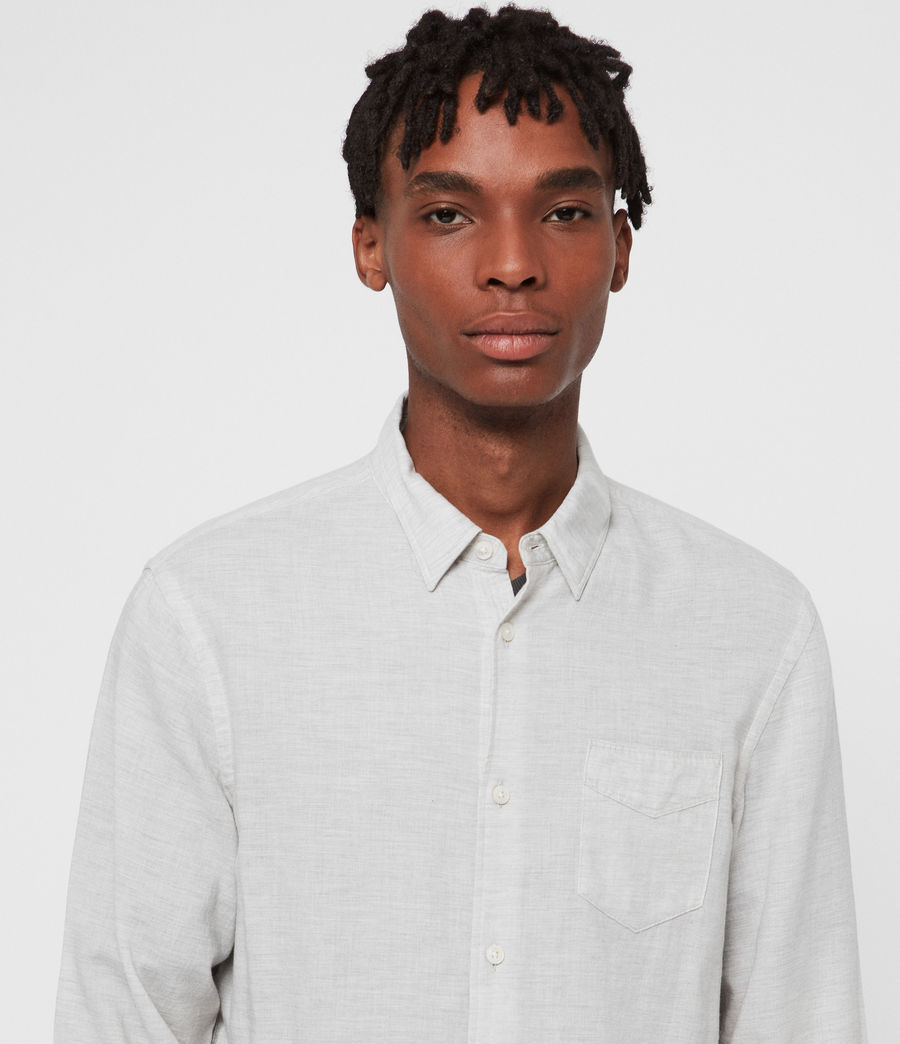 Men's Searsmont Shirt (grey_marl) - Image 3