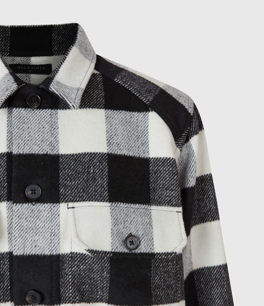 Uomo Teague Shirt (black_white) - Image 5
