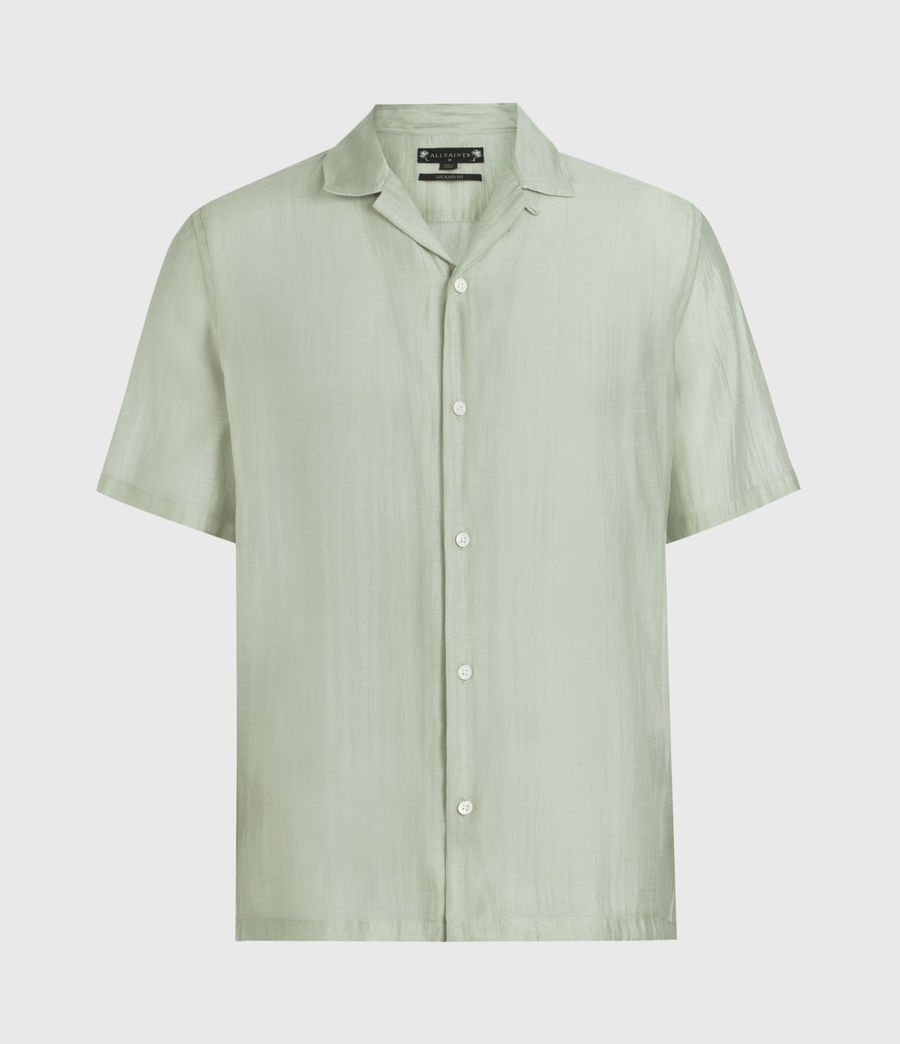 Men's Solana Shirt (thyme_green) - Image 1