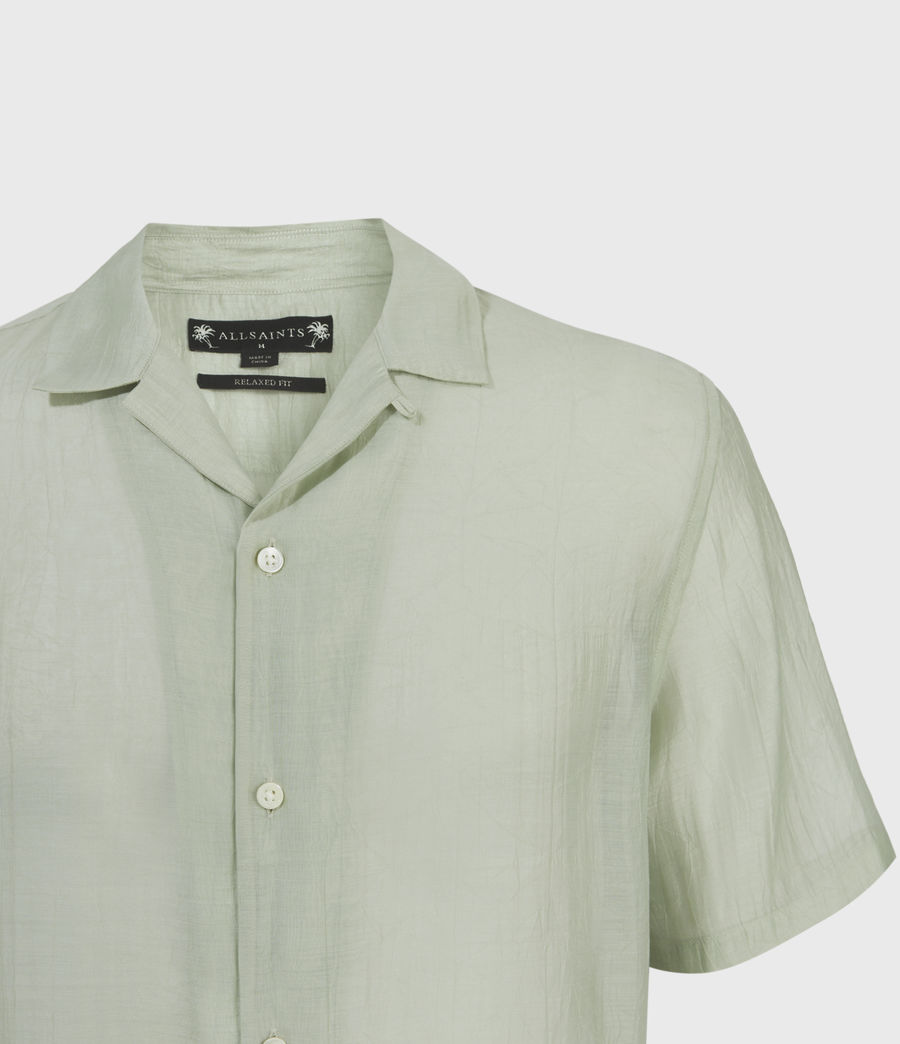 Men's Solana Shirt (thyme_green) - Image 3