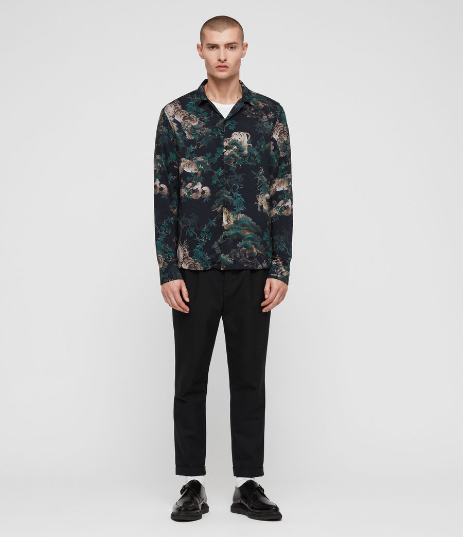 Mens Thicket Shirt (jet_black) - Image 1