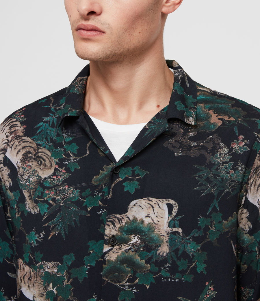 Mens Thicket Shirt (jet_black) - Image 2