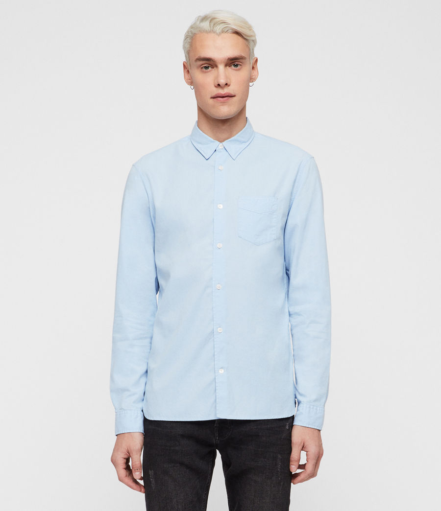 Mens Sawyer Shirt (light_blue) - Image 1
