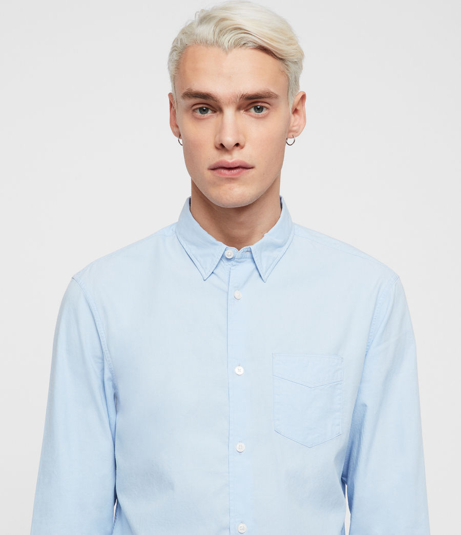 Mens Sawyer Shirt (light_blue) - Image 2