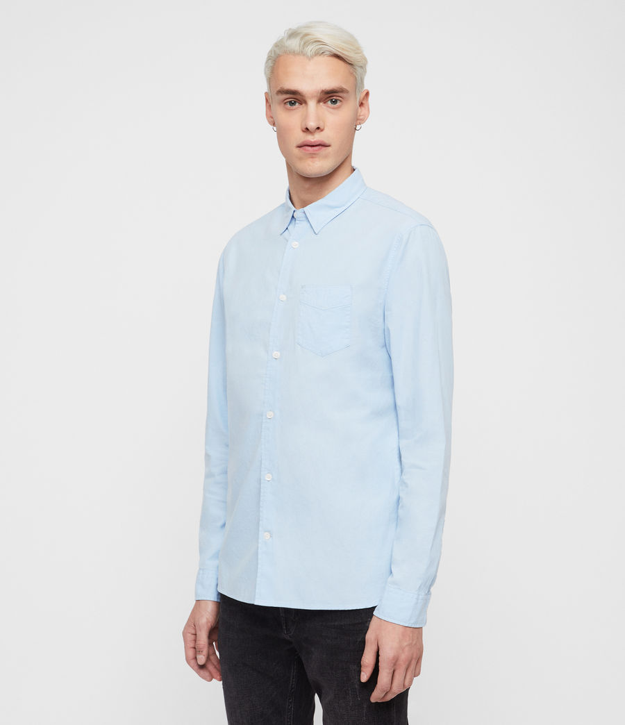 Mens Sawyer Shirt (light_blue) - Image 3