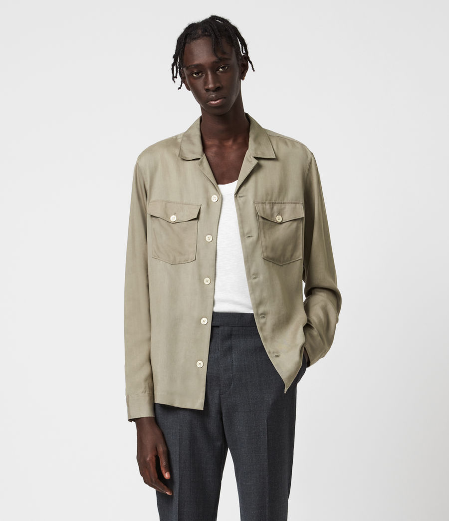 Mens Penang Shirt (safari_taupe) - Image 1