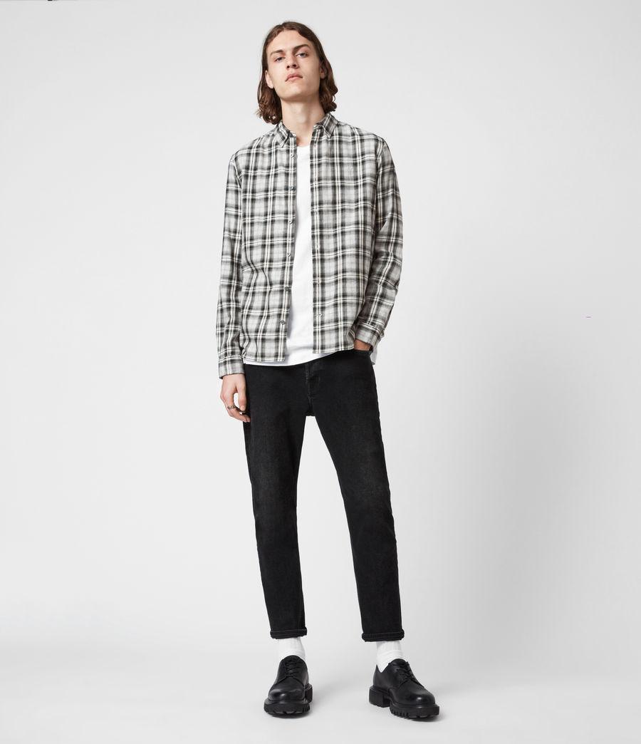 Herren Kelross Shirt (grey_marl) - Image 4