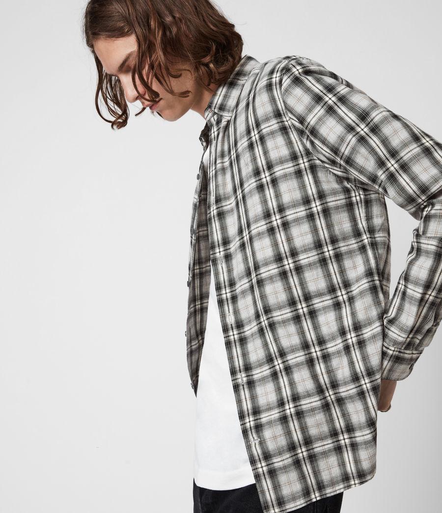 Herren Kelross Shirt (grey_marl) - Image 5