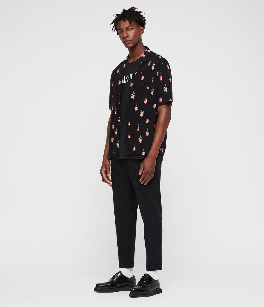 Men's Orchid Shirt (black) - Image 3