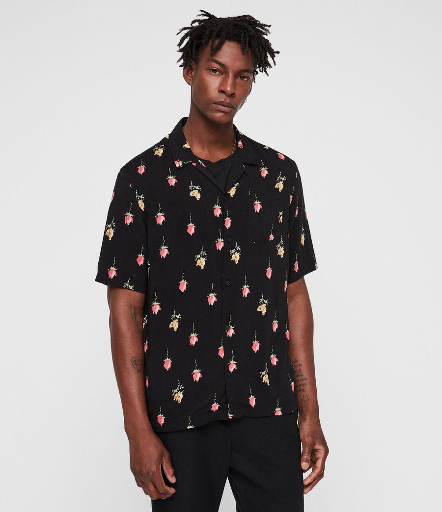 Men's Orchid Shirt (black) - Image 4