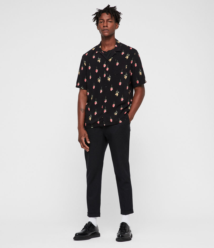 Hombre Camisa Orchid (black) - Image 5