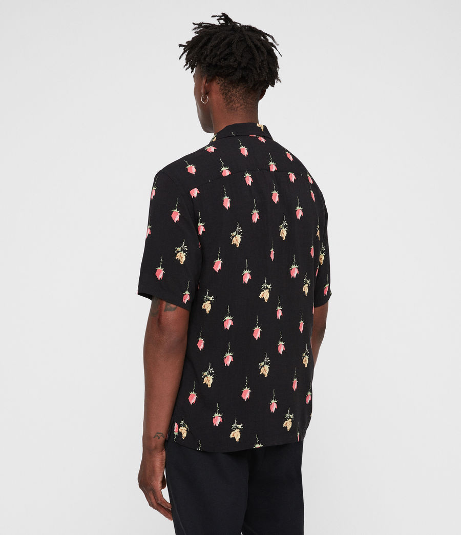 Hombre Camisa Orchid (black) - Image 6