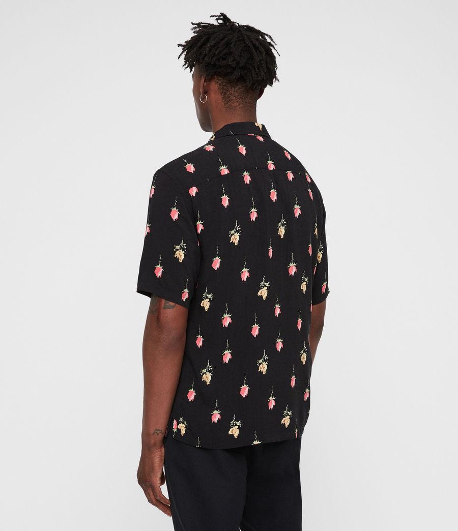 Men's Orchid Shirt (black) - Image 6