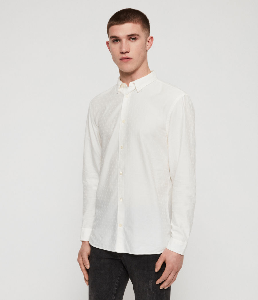 Men's Romance Shirt (chalk_white) - Image 6