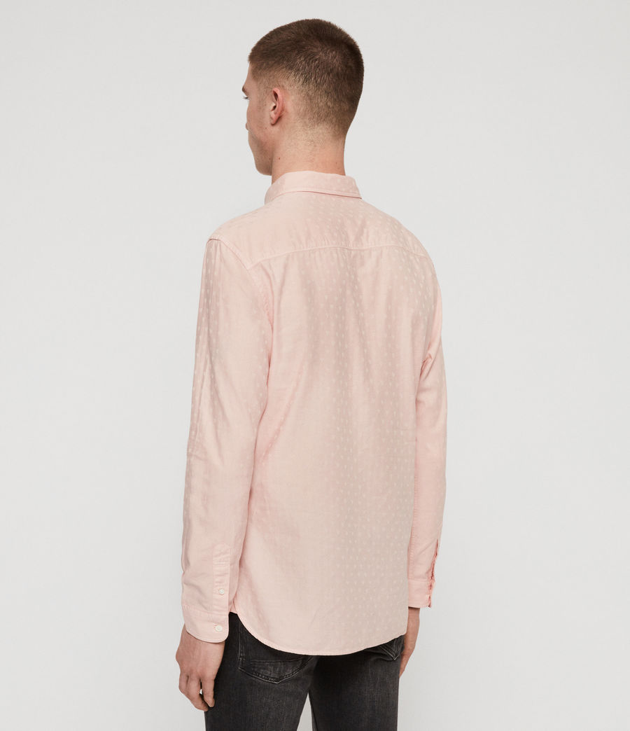 Men's Romance Shirt (bleach_pink) - Image 5