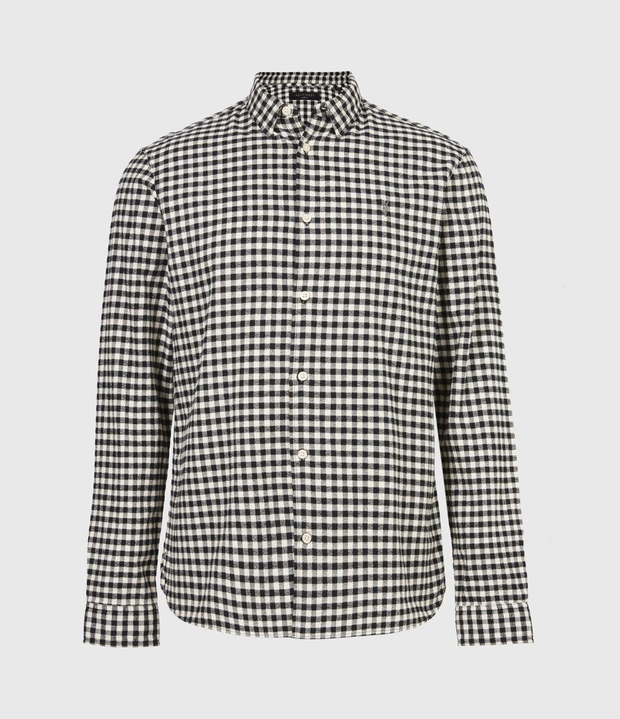 Herren Moselle Shirt (black_white) - Image 2