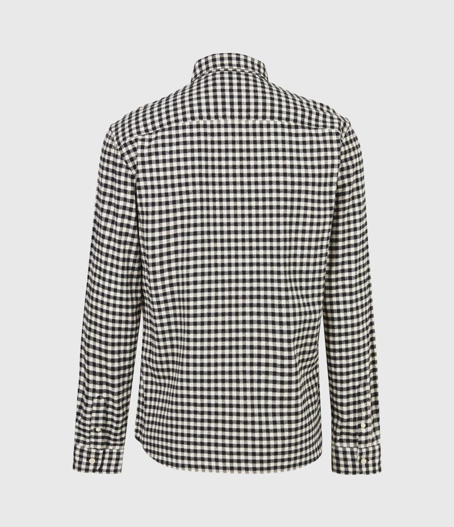 Herren Moselle Shirt (black_white) - Image 3