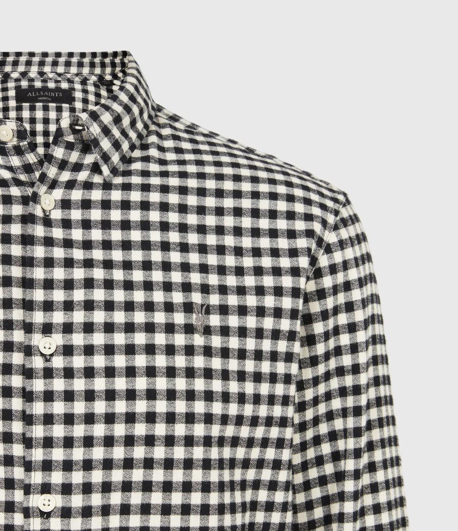 Herren Moselle Shirt (black_white) - Image 5