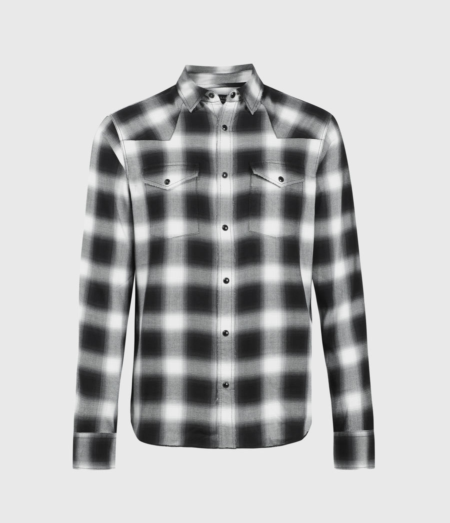 Men's Collano Shirt (jet_black) - Image 1