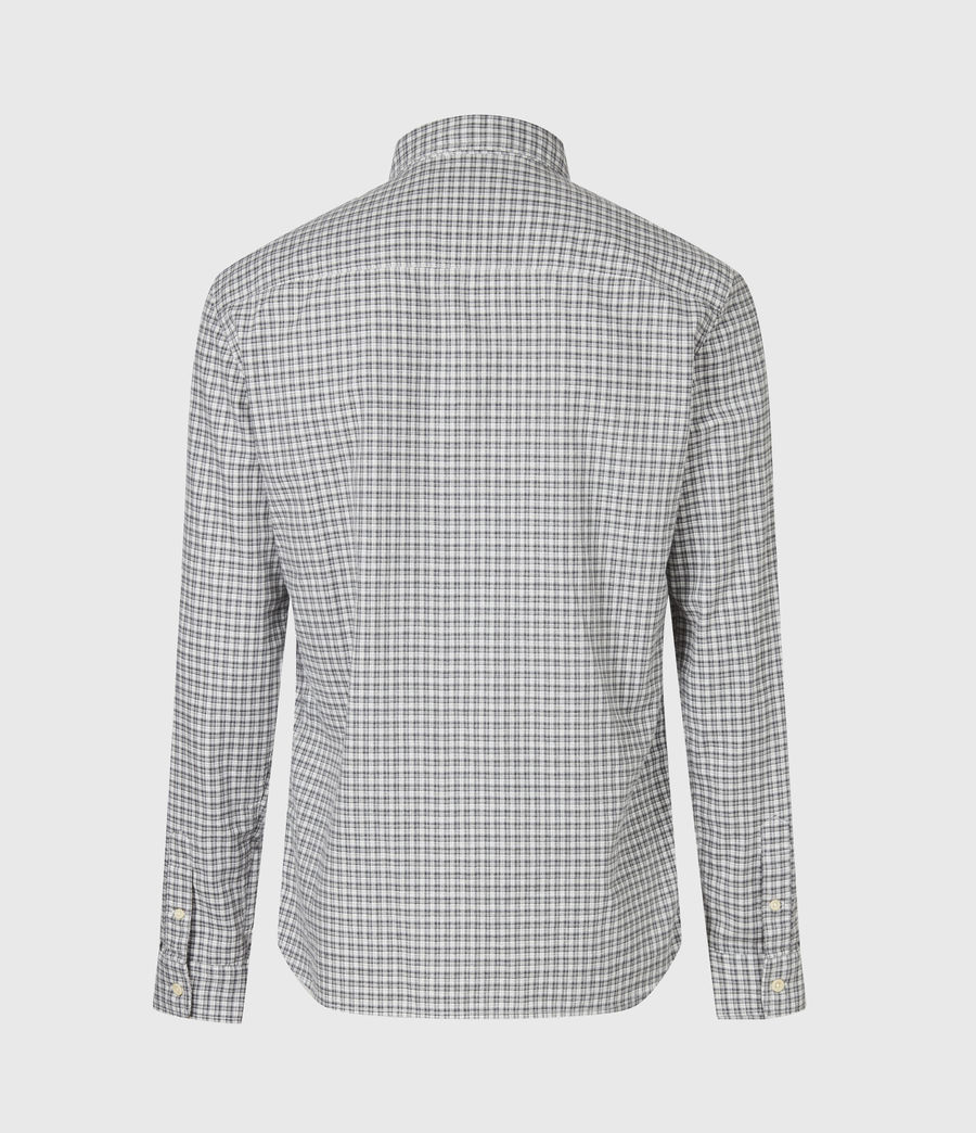 Men's Kiosk Shirt (ecru_grey) - Image 3