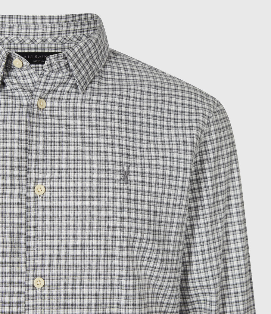Men's Kiosk Shirt (ecru_grey) - Image 5