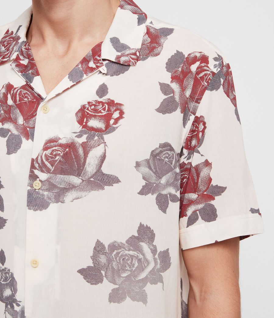 Mens Thorn Shirt (ecru_white) - Image 2