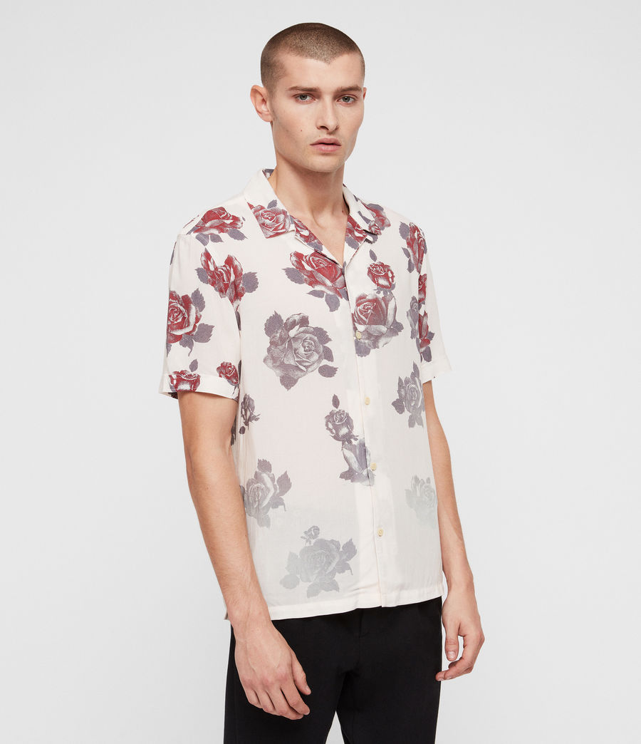 Mens Thorn Shirt (ecru_white) - Image 3