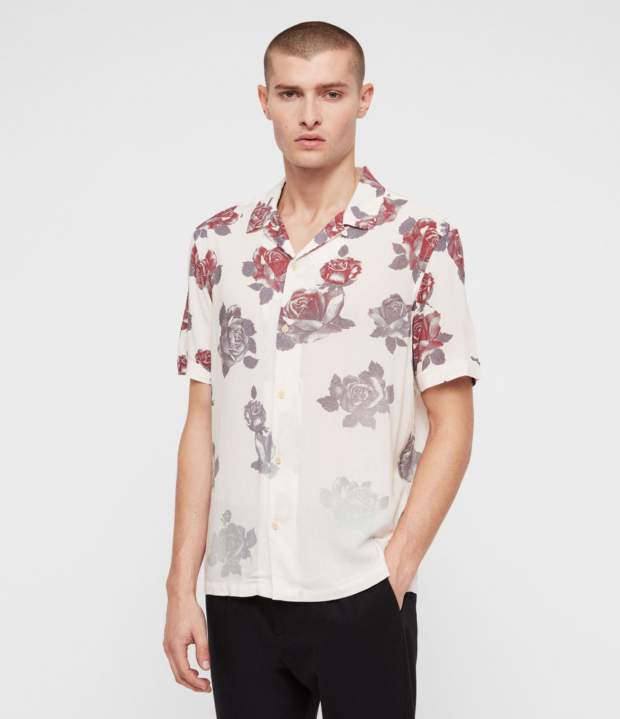 Mens Thorn Shirt (ecru_white) - Image 4