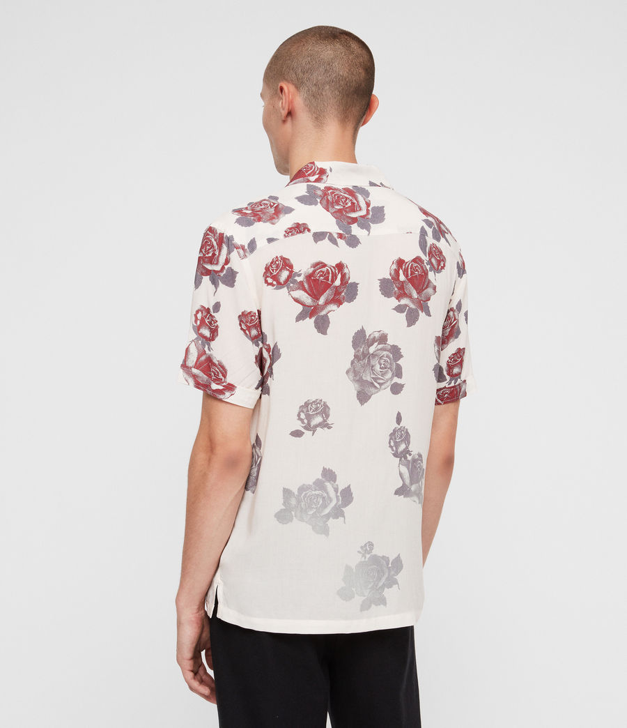 Mens Thorn Shirt (ecru_white) - Image 5