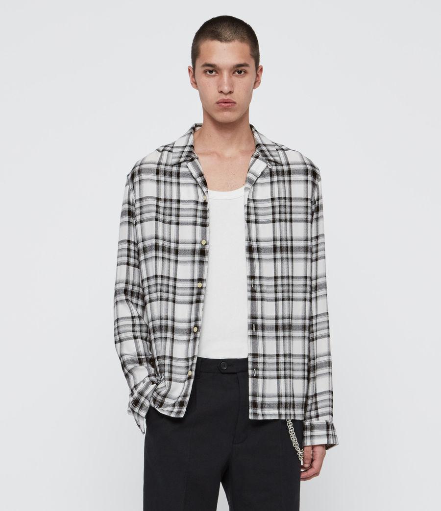 Uomo Easton Shirt (white_black) - Image 1
