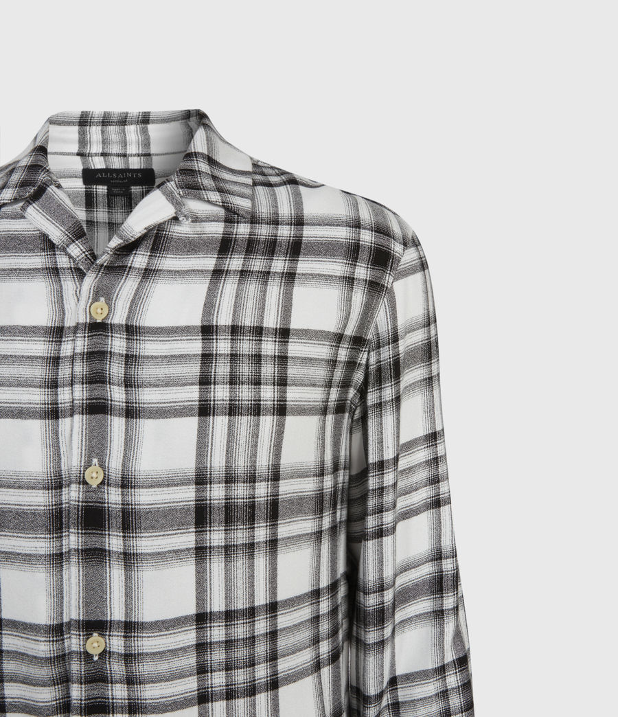 Uomo Easton Shirt (white_black) - Image 4