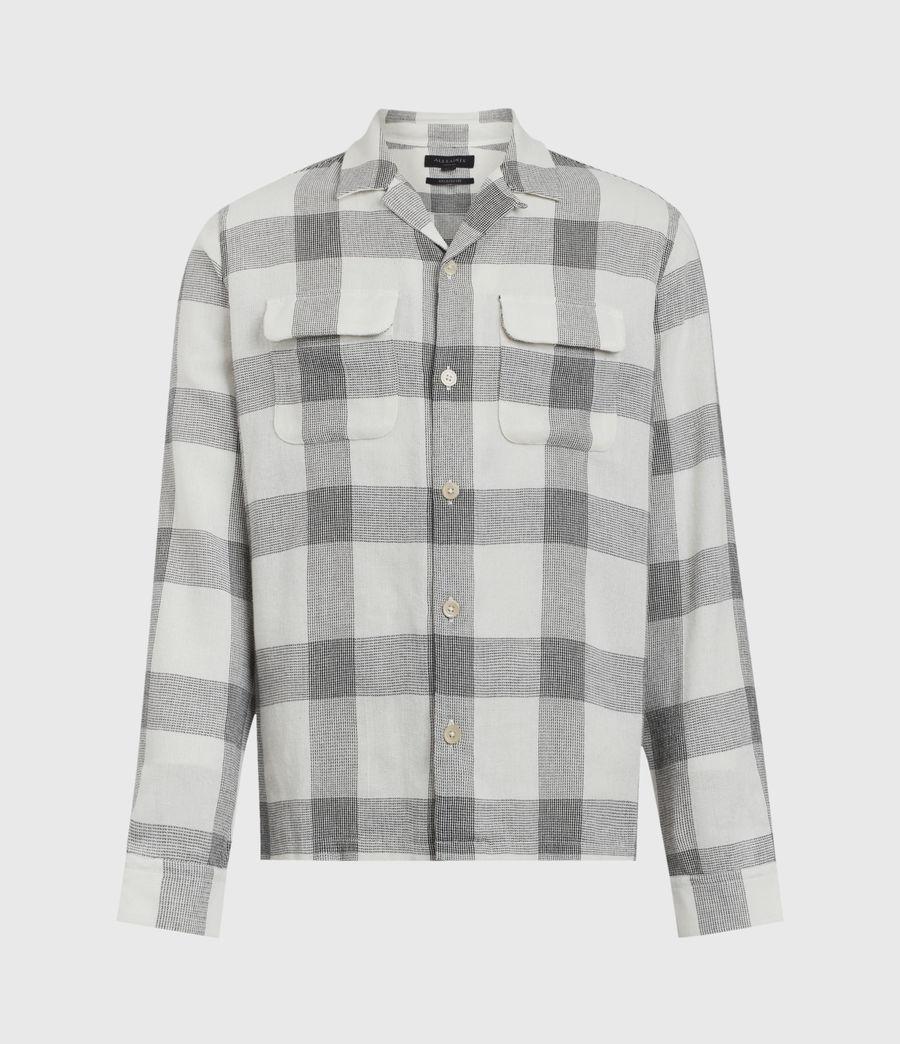 Herren Cammargo Shirt (ecru_black) - Image 2