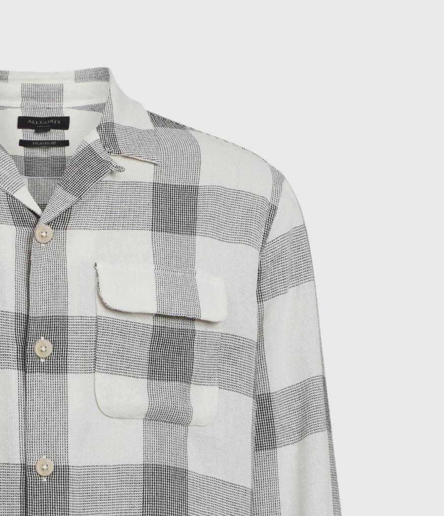 Herren Cammargo Shirt (ecru_black) - Image 5