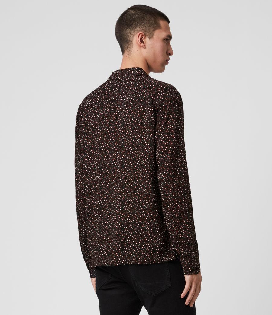 Men's Stellar Long Sleeve Shirt (jet_black) - Image 3