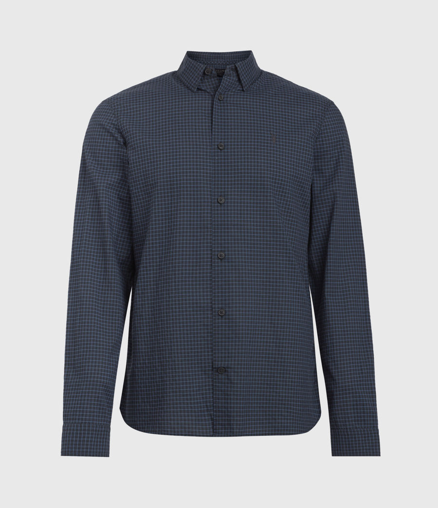 Men's Rosston Shirt (black_blue) - Image 1