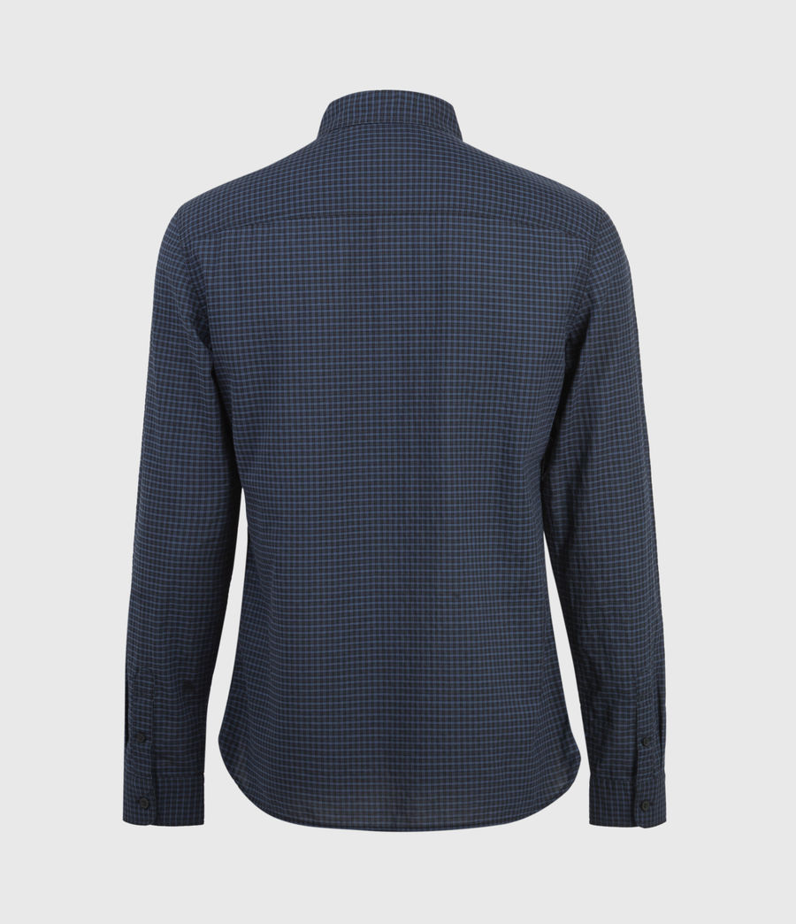 Men's Rosston Shirt (black_blue) - Image 2