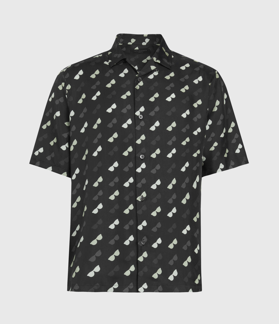 Mens Corey Shirt (black) - Image 2