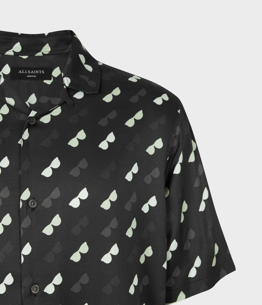 Mens Corey Shirt (black) - Image 5