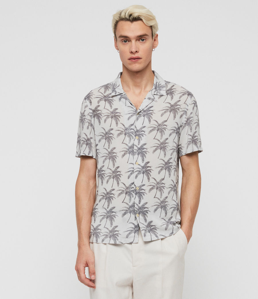 Men's Santacruz Shirt (off_white_black) - Image 1