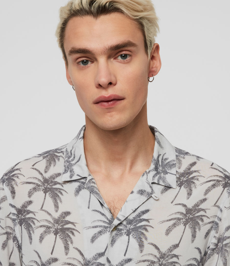 Mens Santacruz Shirt (off_white_black) - Image 2