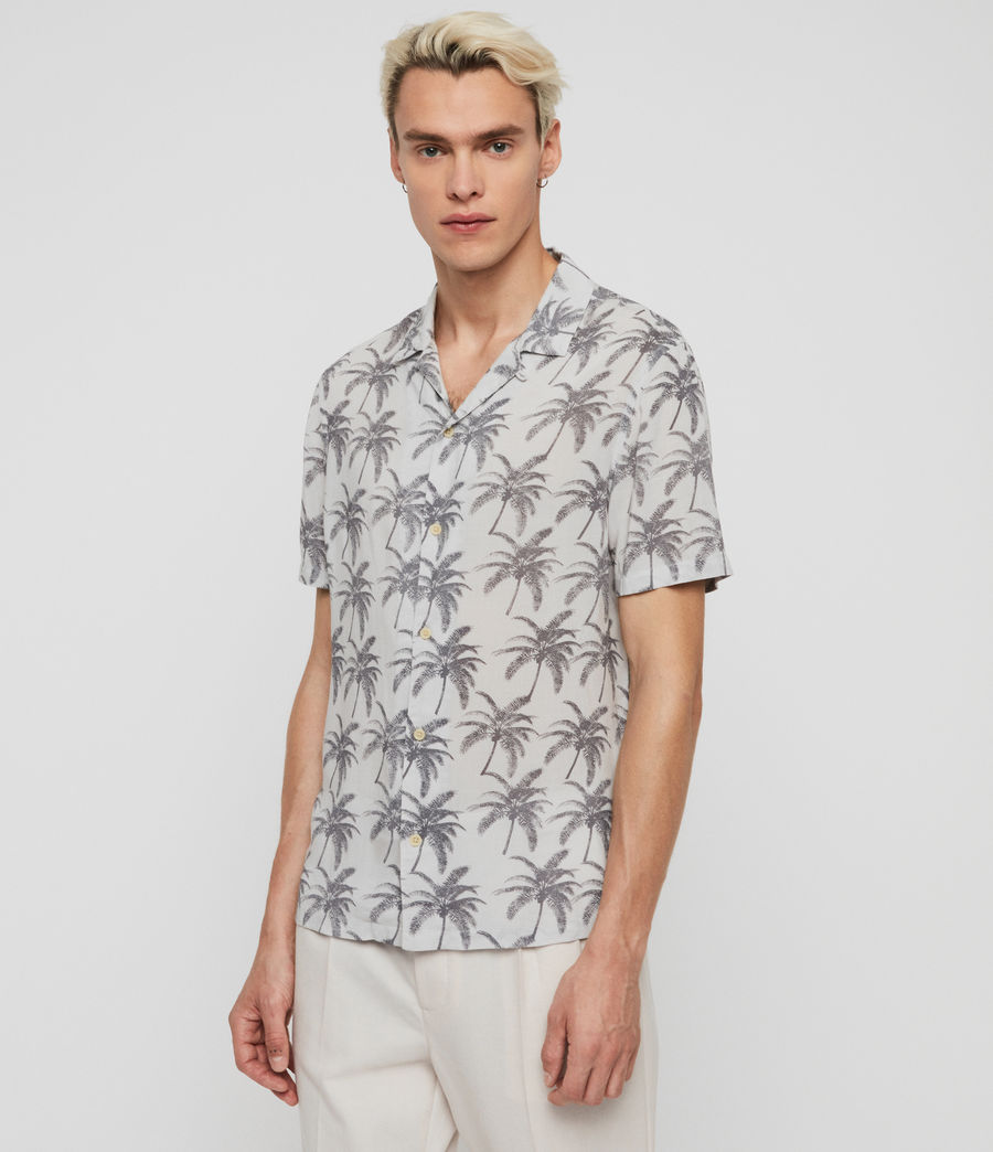 Men's Santacruz Shirt (off_white_black) - Image 3