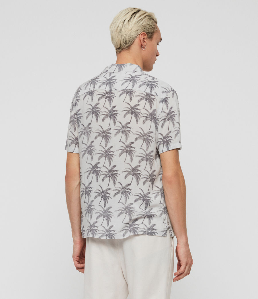 Mens Santacruz Shirt (off_white_black) - Image 4