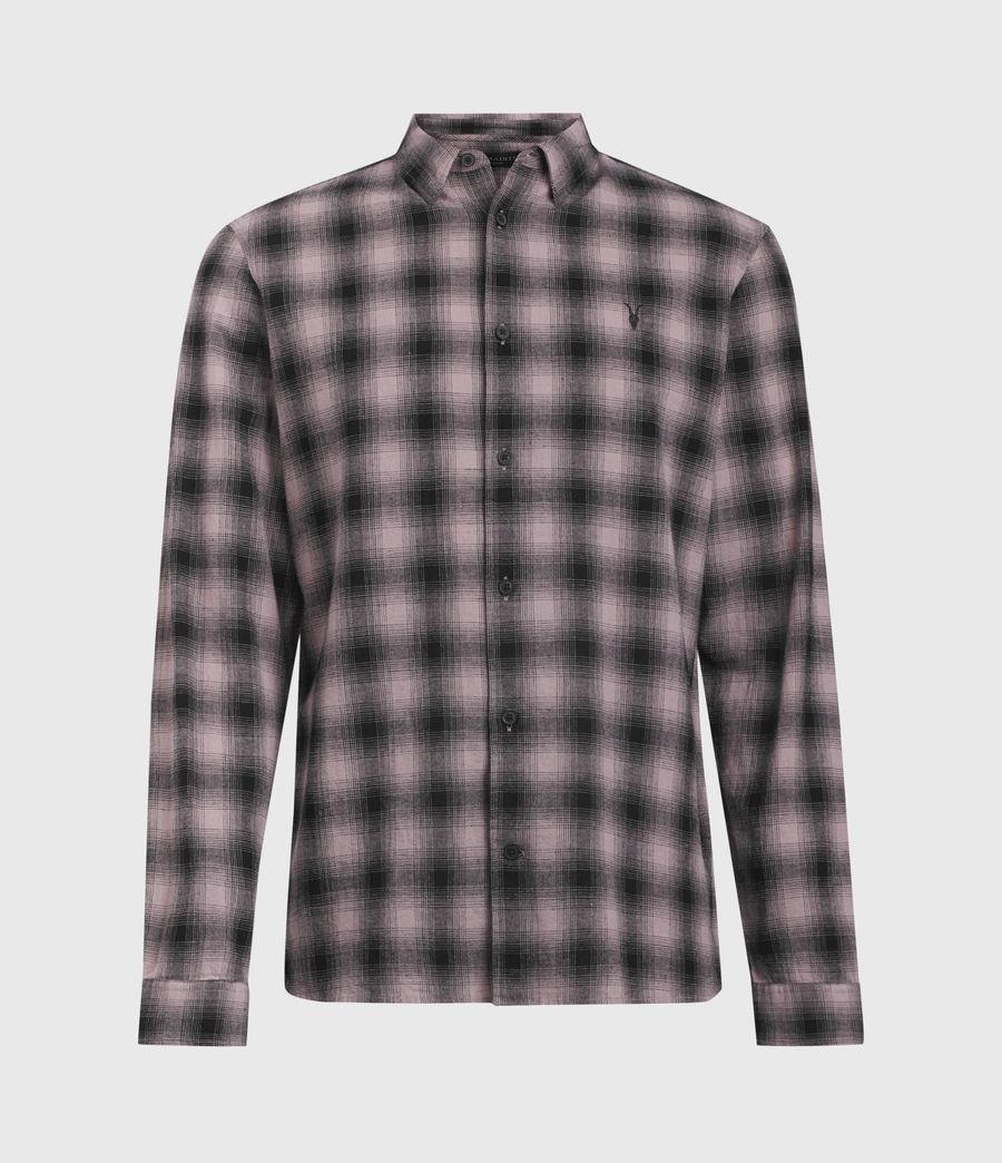 Hombres Copeland Linen Blend Shirt (pink) - Image 1