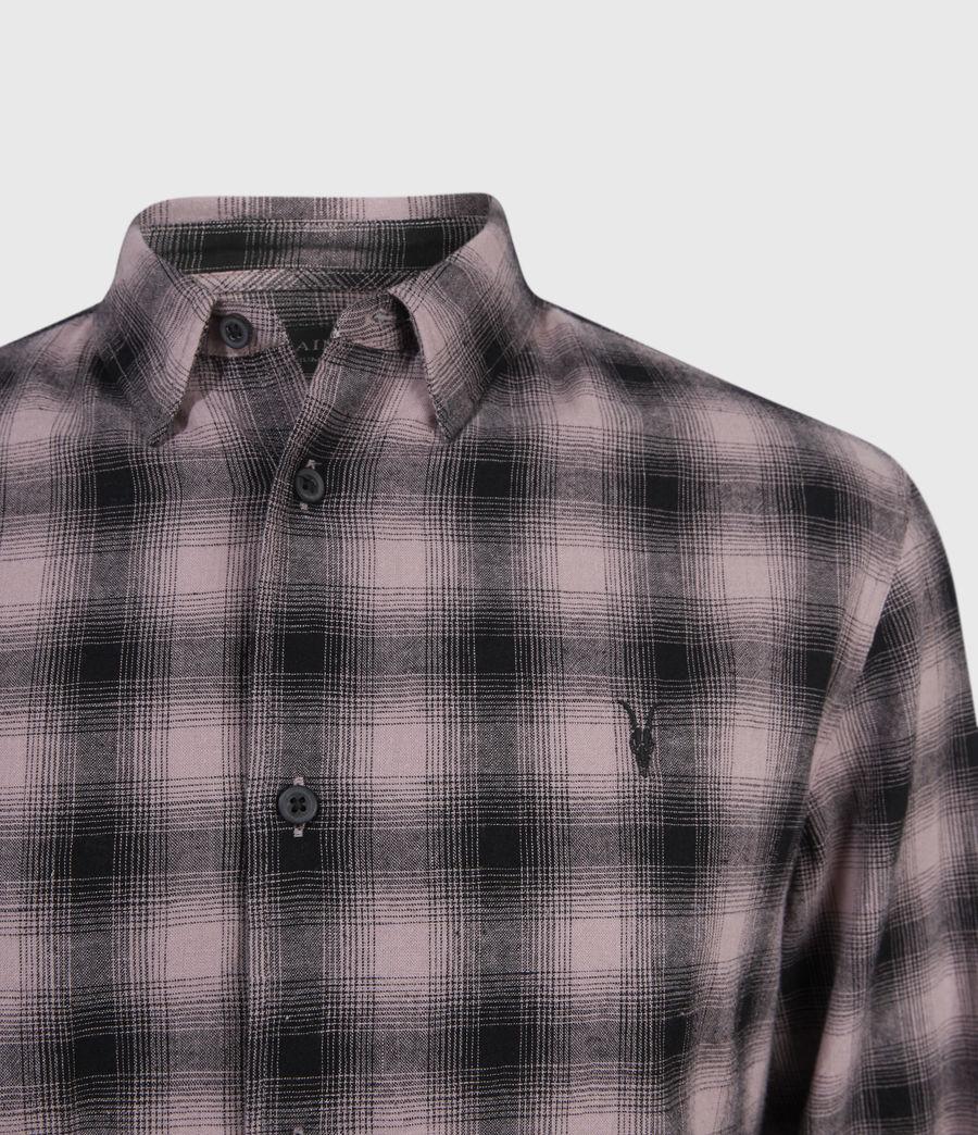 Hombres Copeland Linen Blend Shirt (pink) - Image 3